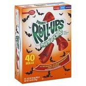 Betty Crocker Fruit Flavored Snacks, Mini Rolls, Screamin' Strawberry Tattoos