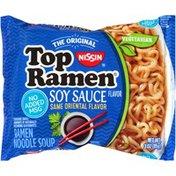 Nissin Soy Sauce Flavor Ramen Noodle Soup
