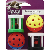 Paws Happy Life Toys, Assorted, for Cats