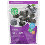 Food Club Pitted Prunes Dried Plums
