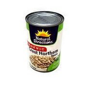 Natural Directions Organic Canned Great Northern Beans