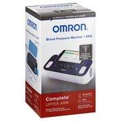 Omron Blood Pressure Monitor + EKG, Upper Arm