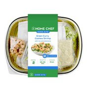 Home Chef Oven Kit Green Curry Cashew Shrimp With Rice And Edamame