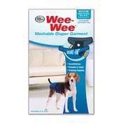 Four Paws Medium Wee-Wee Washable Diaper Garment