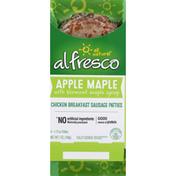 al fresco Apple Maple Chicken Breakfast Sausage Patties 4 ea
