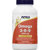 Now Omega 3 6 9 Softgels