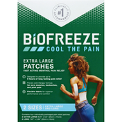 Biofreeze Patches, Extra Large