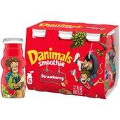 Danimals Strawberry Explosion Smoothies