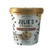 Julie's Organic Coffee Ice Cream