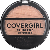 CoverGirl Bronzer, High Pigment, Sunset Glitz, So Flushed 390