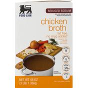 Food Lion Chicken Broth, Reduced Sodium