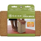 Gaiam Yoga Brick, Cork