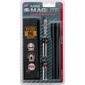 Maglite Flashlight, Mini, Super-Bright Xenon Lamp