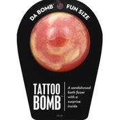 Da Bomb Bath Fizzer, Tattoo Bomb, Fun Size