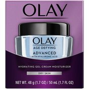 Olay ADVANCED Gel Cream Moisturizer with Hyaluronic Acid for Dry Skin