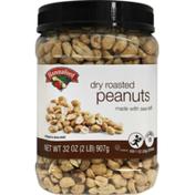Hannaford Dry Roasted Peanuts