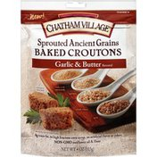 Chatham Village Sprouted Ancient Grains Garlic & Butter Baked Croutons
