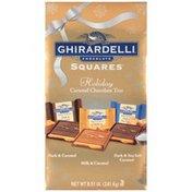Ghirardelli Holiday Caramel Chocolate Trio Ghirardelli Holiday Caramel Chocolate Trio Chocolate Squares