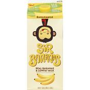 Sir Bananas Milk, Lowfat, Bananamilk