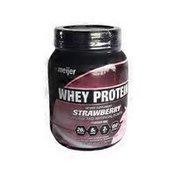 Meijer Strawberry Whey Protein Powder Mix