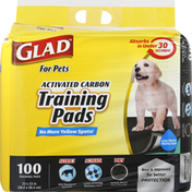 Glad Training Pads, Activated Carbon
