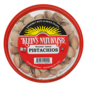 Klein's Naturals Pistachios, Dry Roasted - Salted