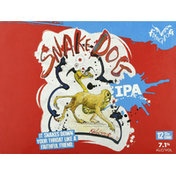 Flying Dog Beer, IPA, Snake Dog