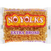 No Yolks Extra Broad Enriched Egg White Pasta