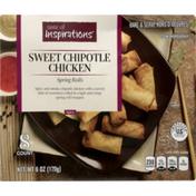 Taste of Inspirations Sweet Chipotle Chicken Spring Rolls