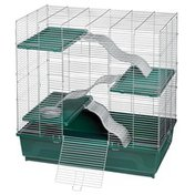 """Kaytee 30"""" x 18"""" My First Home Habitat Multi-Level Cage for Exotics Pets"""