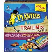 Planters Berry Almond Daybreak Blend Trail Mix Go-Paks