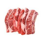 First Street Choice Beef Chuck Flanken Style Ribs