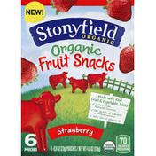 Stonyfield Organic Fruit Snacks, Organic, Strawberry