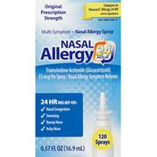 Nasal Allergy 24 Hour Nasal Allergy Spray, Multi-Symptom, Original Prescription Strength