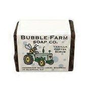 Bubble Farm Soap Co. Vanilla Coffee Scrub Bar Soap