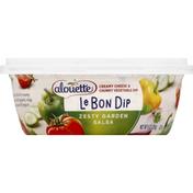 Alouette Dip, Le Bon, Zesty Garden Salsa