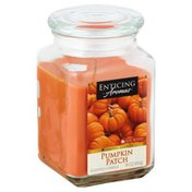 Enticing Aromas Candle, Scented, Pumpkin Patch