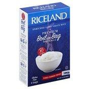 Riceland White Rice, Premium, Long Grain, Boil-in-Bag