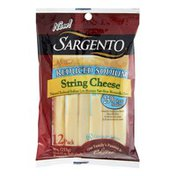 Sargento Reduced Sodium String Cheese - 12 CT