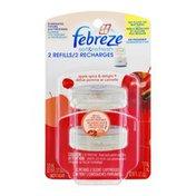 Febreze Set & Refresh Refills Apple Spice & Delight - 2 CT