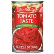 Our Family Tomato Paste With Basil, Oregano & Garlic