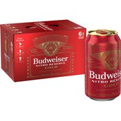 Budweiser Nitro Reserve Gold Lager Beer Cans