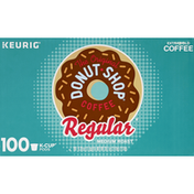The Original Donut Shop Coffee, Medium Roast, Regular, K-Cup Pods