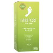 Barefoot On Tap Sauvignon Blanc White Wine Box Wine