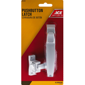 Ace Bakery Pushbutton Latch, Aluminum