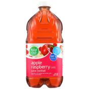 Food Club Apple Raspberry Flavored Juice Cocktail
