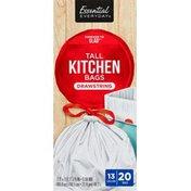 Essential Everyday Tall Kitchen Drawstring Trash Bags