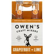 Owens Craft Mixers, Grapefruit + Lime