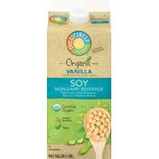 Full Circle Non-Dairy Beverage, Soy, Vanilla