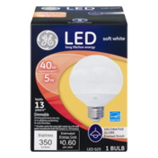 GE LED Bulb Soft White Frosted 5W